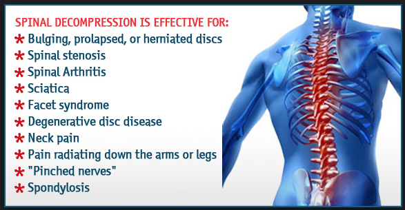Decompression therapy benefits