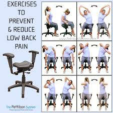 Wobble chair exercise